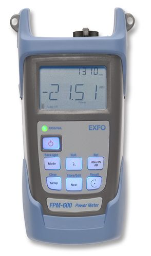 EXFO FPM-602-FOA-54 Optical Power Meter SC  (WITH ACCESSORIES)