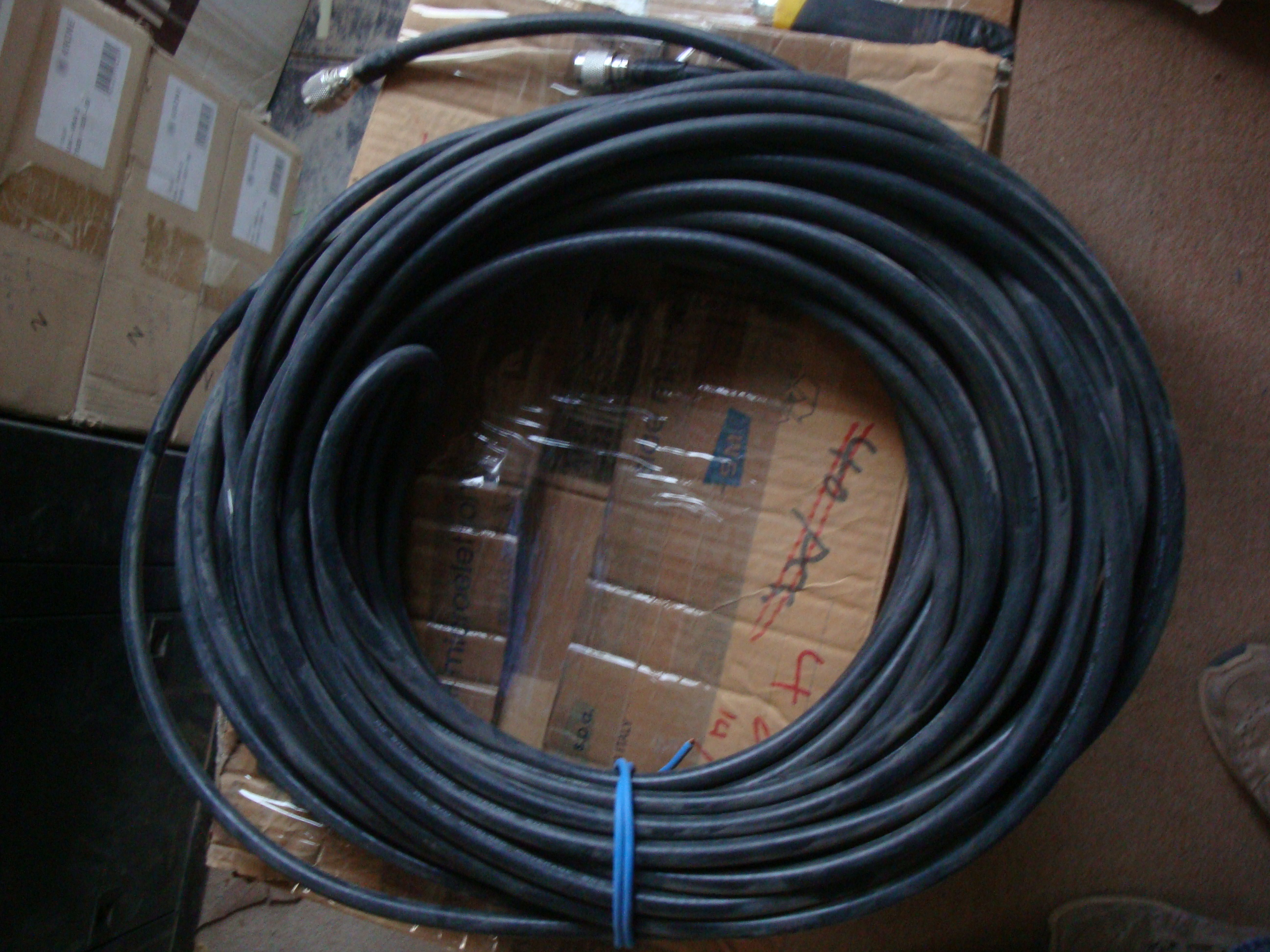 RG8 COAXIAL CABLE WITH N-TYPE MALE CONNECTOR